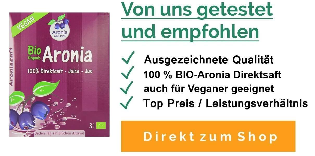 Einnahme Und Dosierung Von Aronia